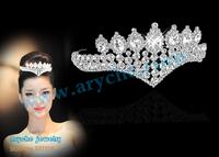 Free shipping,Bride rhinestone hair accessory,Bride Crown,Luxury Bridal Crystal Tiara Crown,the wedding hair accessory,Headpiece