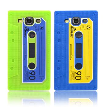 Retro Cassete Audio Tape Silicone Case Cover For Samsung I9300 Galaxy S3 III Free Shipping