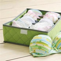 Min Order Is $10(Mix Order) Antibacterial bamboo charcoal bra finishing box storage box