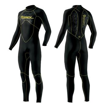 5mm Men Diving Suit Swimwear Black color wetsuit Best quality Blueocean Diving Surfing free shipping