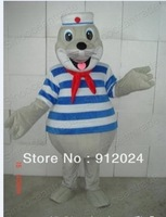 New adult Seal Sea Dog Mascot Costume Halloween gift costume characters sex dress hot sale