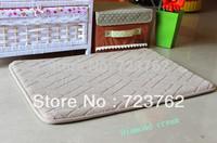 Floor bathroom Memory foam bath mat bathroom mat,40x60cm rugs with 100% polyester material rug in the bathroom