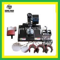 TJ 8 in 1 combo heat transfer machine