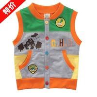 Children's clothing child summer male 2013 child vest children vest baby vest thin