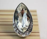 Modern fashion luxurious silver cystal high grade zinc alloy knob furniture handle for high grade closet and cuboard
