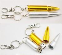 CC12 Wholesale Full capacity Metal Metal Handgun Bullets Models 8GB USB 2.0 Flash Pen Drive Memory stick Car/Thumb/pen
