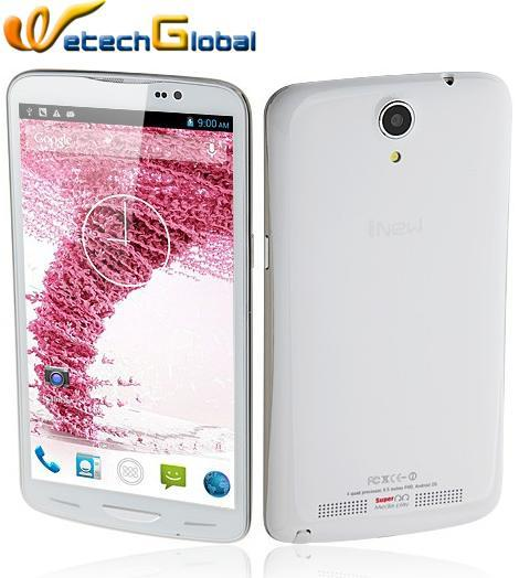 Inew I6000 MTK6589T 1.5GHz Android 4.2 OS Android Phone 2GB RAM + 32GB ROM 6.5 Inch FHD IPS Screen 1920*1080p 13Mp Camera