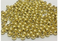 Free shipment ! 4mm 4000pcs/lot silver/Gold Spacer Beads, Spacer Beads For ChunkyJewellery
