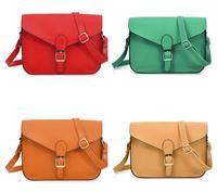 New 2014 Women Messenger Bags Vintage pu Leather England Preppy  Envelope Shoulder Cross body Handbag Wholesale Free Shipping