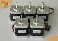 5pcs NEMA17, 4000g.cm CNC stepper motor stepping motor/1.7A wantai cnc motor 42BYGHW609 Super  in 3D Printer