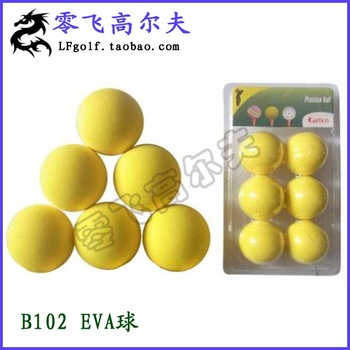 Golf ball eva ball indoor ball multicolour sponge ball