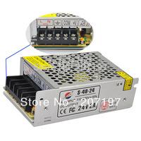 24V2A Iron Case Power Supply - Silver (AC 110~220V)--5Pieces