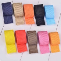 Nylon canvas bags ribbon diy accessories polypropylene fiber school bag belt  backpack ribbon 1 meter