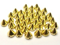 Free shipping 100 Qty / pack gold and dimensions 10 mm and rivets and studs wholesale / New Specials 2013 DIY rivets and studs