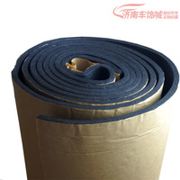 Free shipping, Car sound insulation cotton seal for car sound insulation cotton 10mm thick meters , 1pcs=1cm /100pcs=100 cm/lot