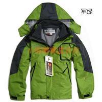 free shipping Child twinset outdoor ski suit jacket wadded jacket cotton-padded jacket 6 - 40 chromophous