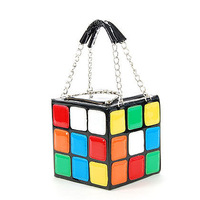 2013  NEW Women's Hot Cute Magic Cube Bag Purse Korean Fashion Handbags Wholesale