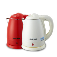Aux ochs 13a10 electric heating kettle scrub stainless steel automatic dry 1.5l