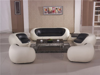 Creative Sofa 2013 Latest Design fashion creative personality combined Smart Sofa, Living Room Top Grain Leather Sofa Set AA01
