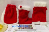 Christmas gift bags cell phone pocket