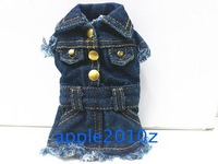 Unique casual denim one-piece dress cell phone pocket coin purse ,