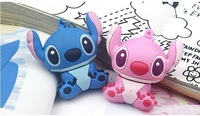 retail genuine 2G/4G/8G/16G/32G cartoon flash drive cute stitch pen drive silicone usb flash drive Free shipping