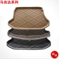 Free shipping, Mazda trunk mat m2m3m5 cx-7 polymax trunk mat Black gray Beige 1 pieces/lot