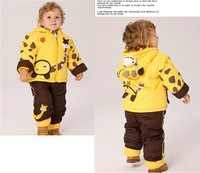 2013 winter new children's baby clothes Baby girl baby boy giraffe coat Baby Clothes Set