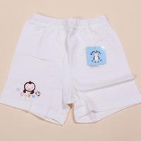 Blue penguin child shorts male 100% child summer cotton shorts female child casual pants 100% cotton panties