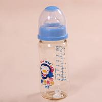 Puku blue penguin 110mm standard caliber pes baby bottle combination caliber bottle set