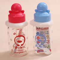 Baby glass bottle baby bottle lightweight standard caliber bumper