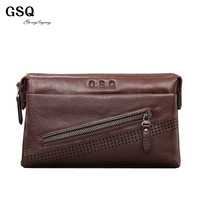 Luxury designer brand business casual men clutches fashion 2013 genuine leather cowhide man clutch wallet leather bags