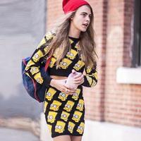 падение новые качества шелка звезды взлетно-посадочной полосы печати заклепки женщин свободные прямые платья мода