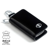 Multi-logo Genuine Leather Car Key Bag Auto Key Wallet Key Holder for TOYOTA Free Shipping