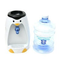 Free Shipping Mini Penguin Shape Water Dispenser 8 Glasses Water Dispenser