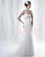 Free Shipping Wedding dress wedding gown fashion 2012 tube top wedding dress