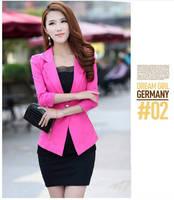 2013 Fashion Women's blazer Tunic Foldable Brand Jacket women suit vintage blazer one button shawl cardigan jackets NZS025