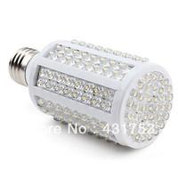5pcs( High brightness 2-year warranty )E27 166 LED 12W Warm White Corn Light Bulb Lamp Spotlight AC 200V-240V  Free Shipping