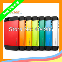 10pcs/lot hot sale! SLIM ARMOR SPIGEN SGP Color Cover case for iphone 4 4s case   + DHL Free shipping