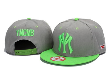 2013 New style YMCMB Snapback caps most popular men women basketball hats grey / green adjustable hiphop hip hop hat & cap