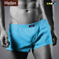 2 meilles summer male fashion at home shorts 100% cotton boxer panties aro loose pants
