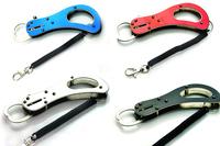 Available !! K-MINI 1pcs 16cm Fishing lip grip mini Fishing Trigger Grip Lock Fish Gripper lure Tackle