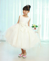 Kids Pageant Dresses For Sale  Child Summer Formal Wedding Dress Pleated Ball Gown Princess Dress Flower Girl Party Tank Dress