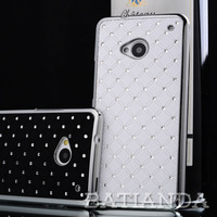 Shinning Star Diamond Hard PC Case Cover for HTC One M7 Free Shipping