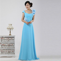 2013 evening dress evening dress long design bridal clothes bag costume performance wear plus size