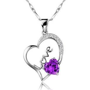 Z-051 925 silver pendant fashion jewelry wholesale pendant romantic love