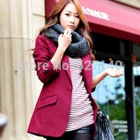 2013 woolen slim blazer one button suit cashmere outerwear 278