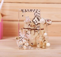 handmade case for For samsung Galaxy SII 9100 mobile phone protective case rhinestone1