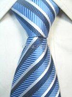 Mens Imitated Silk Necktie Imitated 100% SILK Stripe Plain Tie Plain jacquard ties 50pc/lot NEWEST