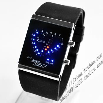 Free shopping cartoon watch Basketball watch love led watch blu ray as5 box